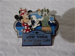 Disney Trading Pin 90016 DCL - 2012 New York City - Minnie Mouse