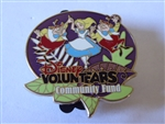 Disney Trading Pin 90073 2012 Disney VoluntEARS Community Fund - Alice