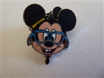 Disney Trading Pins Nerds Rock! Head Collection - Mickey