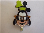 Disney Trading Pins Nerds Rock! Head Collection - Goofy