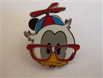 Disney Trading Pins Nerds Rock! Head Collection - Donald