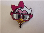 Disney Trading Pins Nerds Rock! Head Collection - Daisy Duck