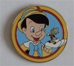 Disney Trading Pin 90184: Disney's Best Friends - Mystery Pack - Pinocchio and Jiminy Cricket