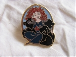 Disney Trading Pins 90212: Brave - Booster Set - Merida and Triplet Cubs