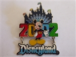 Disney Trading Pin 9058 Disneyland 2002 Dangle (Mickey)