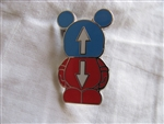 Disney Trading Pins 90658: Vinylmation Jr #5 Mystery Pin Pack - This and That - Up and Down