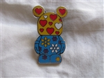 Disney Trading Pins 90666: Vinylmation Jr #5 Mystery Pin Pack - This and That - Hearts and Flowers