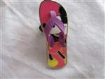 Disney Trading Pin 90795: Sandals/Flip Flops - Mickey Mouse - Right Sandal Only