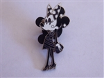 Disney Trading Pin Minnie Mouse - Paris Fashion Glamour Set - Minnie in Striped Skirt