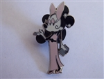 Disney Trading Pin Minnie Mouse - Paris Fashion Glamour Set - Minnie in Pink Formal Dress