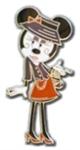 Disney Trading Pin Minnie Mouse - Paris Fashion Glamour Set - Minnie Wearing a Hat