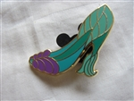 Disney Trading Pin 90875: Stylized Disney Princess Designer Shoes Booster Set - Ariel