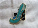 Disney Trading Pin 90878: Stylized Disney Princess Designer Shoes Booster Set - Jasmine