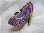 Disney Trading Pin 90879: Stylized Disney Princess Designer Shoes Booster Set - Rapunzel