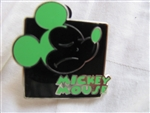 Disney Trading Pins 90964: Mickey Expression - Mystery Pouch - Hmph! (Green)