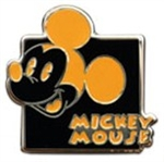 Disney Trading Pin Mickey Expression - Mystery Pouch - Chuckling (Orange) Only