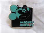 Disney Trading Pins 90966: Mickey Expression - Mystery Pouch - Upset (Teal) Only
