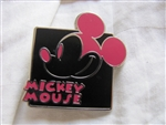 Disney Trading Pins 90972: Mickey Expression - Mystery Pouch - Smiling (Pink)
