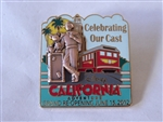 Disney Trading Pin  91017 DCA - Grand Re-opening June 15, 2012 - Celebrating Our Cast