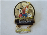 Disney Trading Pin  91057 DLR - I Was There - Disney's California Adventure Opening Day