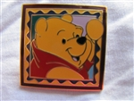 Disney Trading Pin 920: Pooh Frame / Stamp Pin