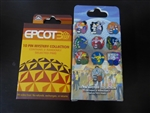 Disney Trading Pins  92488 Epcot 30th Anniversary Mystery Set