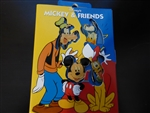 Disney Trading Pin 9265 Disney Store Storybook 4 Pin Set - Mickey and Friends