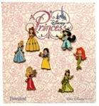 Disney Trading Pin Kids Dressed as Princesses