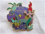 Disney Trading Pins 92915: WDW - Under the Sea Journey of the Little Mermaid - Ariel
