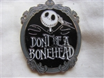 Disney Trading Pin 92961: Nightmare Before Christmas - Dont Be A Bonehead