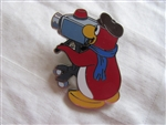 Disney Trading Pin 93193: Disney Club Penguin - Mystery Series 2 - Movie Director Penguin ONLY