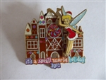 Disney Trading Pin 93433 DLR - 2012 It's a Small World Holiday Gingerbread - Tinker Bell