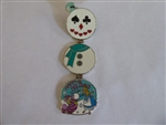 Disney Trading Pin 93443 WDW - 2012 Happy Holidays Snowman - Alice In Wonderland