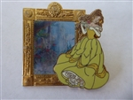 Disney Trading Pin 93468: Enchanted Tales with Belle - Lenticular Magic Mirror Pin