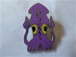 Disney Trading Pin  93562 Vinylmation(TM) Reveal/Conceal Mystery Collection - Park Starz #1 - Purple Squid ONLY