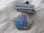 Disney Trading Pin 93667 DLR - Mike & Sulley to the Rescue! - Sulley, Mike, and Boo