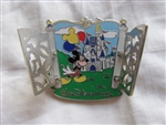 Disney Trading Pin  93672: WDW - Castle Gates - Mickey Mouse