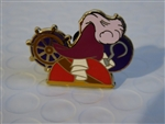 Disney Trading Pin 93702: Character Earhat - Mystery Pack - Captain Hook ONLY