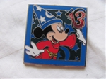 Disney Trading Pins 93892: Mystery Collection - Dated 2013 - Sorcerer Mickey Square ONLY
