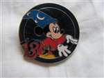 Disney Trading Pin 93934: Mystery Collection - Dated 2013 - Sorcerer Mickey Circle ONLY