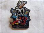 Disney Trading Pin 93942: WDW - Dated 2013 - Sorcerer Mickey, Donald, Goofy, and Pluto