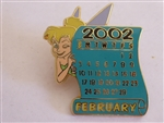 Disney Trading Pin 12 Months of Magic Calendar February / Tinker Bell