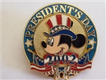 Disney Trading Pin 12 Months of Magic - President's Day 2002 (Mickey)