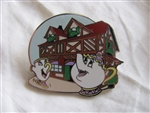 Disney Trading Pin  94081: WDW - New Fantasyland - Beauty and the Beast Mystery Collection - Mrs. Potts and Chip at Bonjour! Village Gifts ONLY