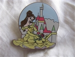 Disney Trading Pin 94083: WDW - New Fantasyland - Beauty and the Beast Mystery Collection - Belle at Beast's Castle ONLY