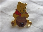 Disney Trading Pin 9415 12 Months of Magic - Birthstone Pooh (Amethyst/February)