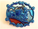 Disney Trading Pin 94199 WDW - Annual Passholder - New Fantasyland Stained Glass Set - Casey Jr. ONLY