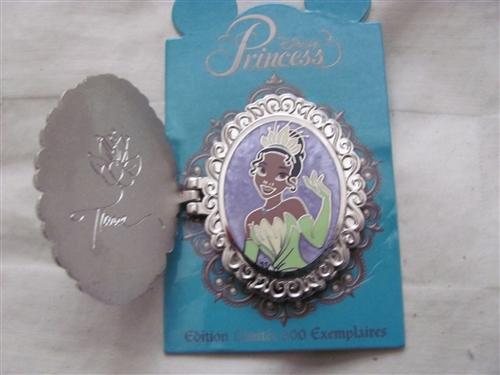 Disney Trading Pins 94280 Dlp Princess Symbol Locket Tiana
