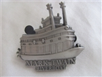 Disney Trading Pin 94363: DLR - Annual Passholder - Tour the Lore - Attraction Vehicles Set - Mark Twain Riverboat ONLY