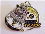 Disney Trading Pin 94526: WDW - Epcot® 30th Reveal/Conceal Mystery Collection - Test Track - Mickey, Minnie, and Goofy ONLY